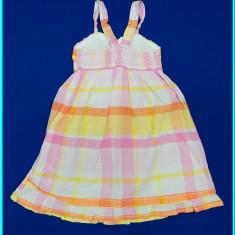 DE FIRMA _ Rochie / rochita de vara, bumbac, H&M _ fetite | 3 - 4 ani | 104 cm, Culoare: Roz