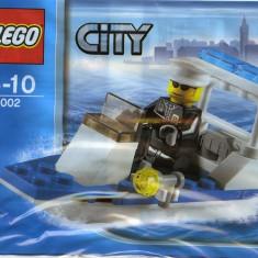 LEGO 30002 Police Boat (Barca de politie) - LEGO City