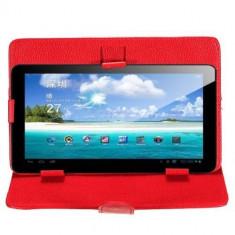 Husa 9. 7 inch husa gps husa 9.7 inch rosie Husa tableta 9.7 inch rosie Husa protectie tablete pc 9.7 inch husa cu suport husa 9.7