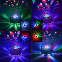 Lumini club - Lumini disco joc lumini disco Sunflower led light glob magic Efecte uimitoare