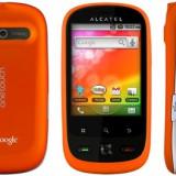 Vand Alcatel OneTouch 890D Dual-Sim - Telefon Alcatel, Portocaliu, <1GB, Neblocat, Single core