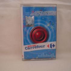 Vand caseta audio Hit-uri Carrefour, selectie romaneasca, originala - Muzica Pop nova music, Casete audio