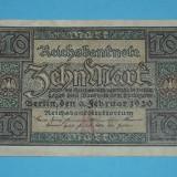 Germania 10 Mark 1920