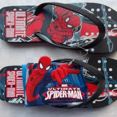 Spiderman - slapi originali, papuci plaja copii ! - Slapi copii, Culoare: Multicolor, Marime: 34, Baieti