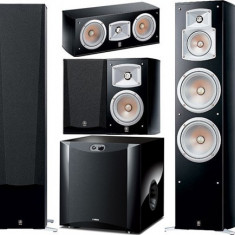 Boxe Yamaha, Sistem 5.0, 500 - 1000 W - Incinte home cinema 5.1 Yamaha format din NS-555 (front) + NS-C444 (center) + N