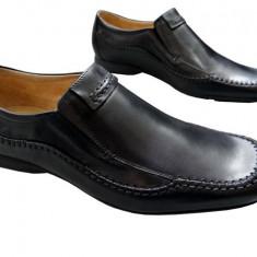 Pantofi barbati piele naturala Denis-890-n