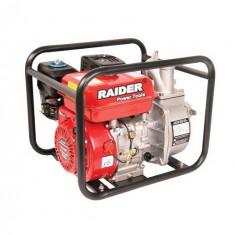 Pompa gradina, Motopompe - 079906-Motopompa pe benzina 5.5 CP pe 2 toli