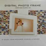 Rama foto digitala 7 inch   ALBA   Telecomanda   NOUA