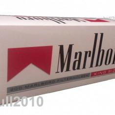 Foite tigari - Tuburi MARLBORO RED 200 tuburi tigari / cutie de injectat tutun, filtre tigari