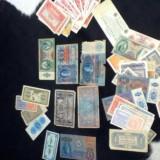 Colectie bani vechi Coroane ,marci,etc