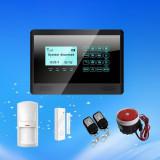 Sistem Alarma GSM Wireless cu Touch Keypad 850/900/1800/1900Mhz model 811C/2014 - Sisteme de alarma