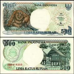 INDONEZIA- 500 RUPIAH 1992-1998- P 128- UNC!!