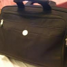 Vand geanta laptop Dell, Geanta de umar, 17 inch, Neopren, Negru