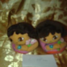 Lot 98 papuci casa Dora lungime 18 cm - incaltaminte bebe copii fetite - - Papuci copii, Marime: 25