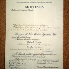 06. ITALIA VITTORIO EMANUELE III BREVET INALTARE IN GRAD COLONEL BORDO LUIGI 1904