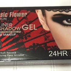Tus ochi - Eyeliner gel, Tus de pleoape gel Music Flower, 4 culori Smoked Makeup