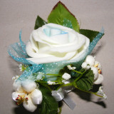 Decoratiuni nunta - Cocarde nunta mari deosebite