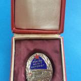 Medalii Romania - Ordinul pentru merit ceferist + CUTIE