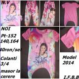 set Tricou+colanti cu Violetta ,noi,MODEL NOW-PT 140cm