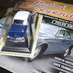 Macheta auto, 1:43 - 3098.Masini de legenda - Volvo 120 Amazon + revista - scara 1:43