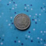 JN. 10 cents 1950 Malaya