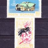 Timbre ROMANIA 1965/ LP.610 = AL XX-lea CONGRES INERNAT. APICULTURA, SERIE COMPLETA NESTAMPILATA