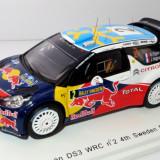SPARK Citroen DS3 WRC No.2 S. Ogier locul 4 raliul Suediei 1:43 - Macheta auto