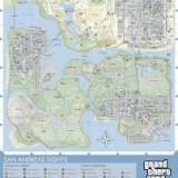 Poster San Andreas Sights - Afis