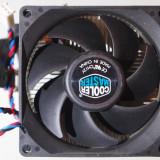 Cooler / Racire procesor Amd COOLER MASTER Pt AMD 754, 939, AM2, Am3, Am3+ Fm1 Fm2 Ventilator 80 MM 3 pini Va rog cititi conditiile - Cooler PC Cooler Master, Pentru procesoare