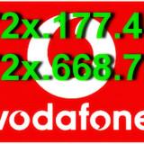 CARTELE - NUMERE - AUR_VIP_PLATINA_GOLD_SPECIALE_CARTELA_MINI-SIM_VODAFONE_1 NUMAR_FAVORIT_____ 072x.177.468 _______ 072x.668.792 _____12__LEI__NR - Cartela Vodafone