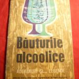 Carte Medicina - P.Penciu -Bauturile Alcoolice -Adevaruri si... Legende - Ed. 1963