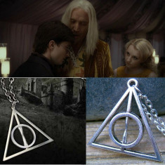 Pandantiv / Colier / Lantic HARRY POTTER - Deathly Hallows Triangle - Lantisor fashion