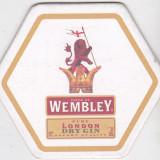 Cartonas de colectie - Suport de pahar / Biscuite WEMBLEY