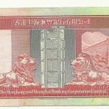 HONG KONG BANCNOTA 100 DOLARI, Asia