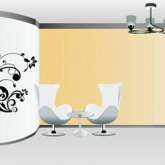 Tapet - Floral_Tatuaj de perete_Stickere décor_WALL-535-Dimensiune: 95 cm. X 100 cm. - Orice culoare, Orice dimensiune