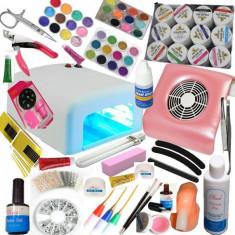 Unghii false - Kit set unghii gel manichiura - peste 100 produse -
