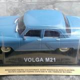 Macheta metal DeAgostini Volga M21 NOUA, SIGILATA+revista Masini de Legenda nr.4