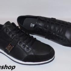Pantofi DOLCE GABBANA 100% Piele Naturala - Model NOU 2016 !!! - Adidasi barbati Dolce & Gabbana, Marime: 44, Culoare: Negru