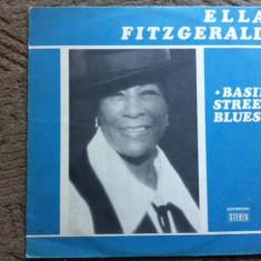 Ella Fitzgerald Basin Street Blues vinyl jazz lp - Muzica Jazz electrecord, VINIL