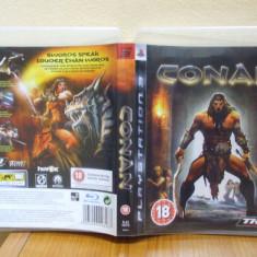 Conan (PS3) (ALVio) + sute de alte Jocuri PS3 Thq ( VAND / SCHIMB ), Actiune, 18+