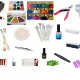 Lampa unghii gel manichiura / pila electrica / geluri uv / tipsuri / kit manichiura / set unghii false / primer / finish / lipici
