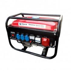 Generator curent pe benzina Straus Austria, putere 3500W, rezervor 15 litri