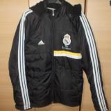 Geaca barbat Real Madrid-Adidas - Geaca barbati Adidas, Negru, Poliester