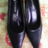Pantofi gala venturini - Pantofi dama, Marime: 36, Negru