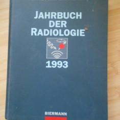 R. W. GUNTHER--JAHRBUCH DER RADIOLOGIE 1993 - Carte Radiologie