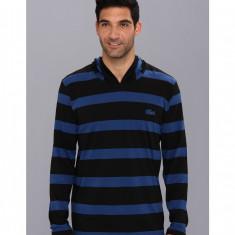 Barbati Lacoste Striped Hoody T-Shirt | 100% original | Livrare cca 10 zile lucratoare | Aducem pe comanda orice produs din SUA - Bluza barbati