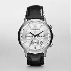 Ceas Emporio Armani AR2432 Chronograph Stainless Steel and Black - Ceas barbatesc Armani, Quartz