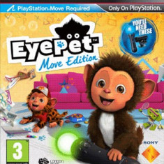EyePet: Move Edition - Joc ORIGINAL - PS3 - Jocuri PS3 Sony, Simulatoare, 3+, Single player