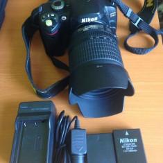 Nikon d40 + obiectiv nikon 18 - 105mm - DSLR Nikon, Kit (cu obiectiv)