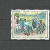 Franta 1965 - PICTURA ALAI MEDIEVAL, timbru nestampilat B254